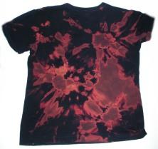 tie dye bleach shirt