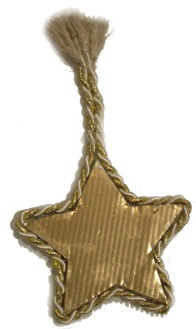 Glitter Card Star
