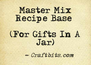 Master Mix Recipe Base