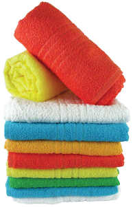 wax scented towels