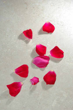 rose petals bath syrup