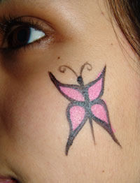 Face Paint Butterfly