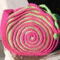 Spiraled Purse Crochet Pattern