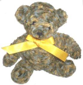 Knitted Scruffy The Bear