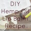 Lip Balm - Hemp Oil