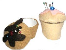 Cupcake Trinket Box Open
