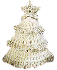Puffy Christmas Tree Crochet