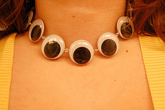 Googly Eyed Necklace