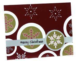 Christmas Card Idea: Reflective Vinyl