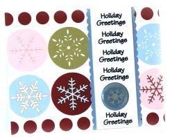 Christmas Card: Sentimental Panels