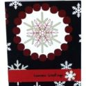 Christmas Card - Button Embellishments