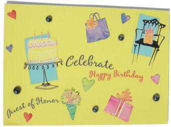 DIY Celebrate Birthday Card