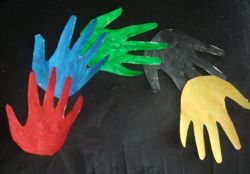 Bible Craft: Handprint Rainbow