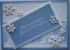 Christmas Card: Frosty Christmas