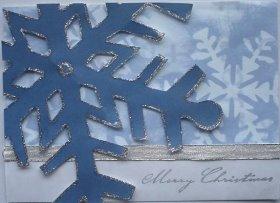Christmas Card: Giant Snowflake