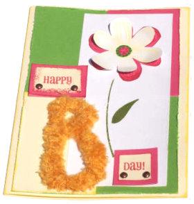 """Happy """"B"""" Day Card"""