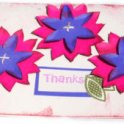 Cardmaking - Flower Thanks