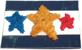 Patriotic Stars Card