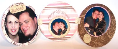 Altered Coasters – Photo Frame