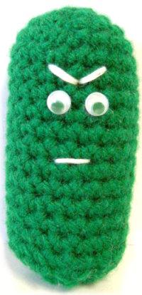 Mr Sour Pickle Crochet Pattern