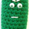 Mr Sour Pickle Man: Crochet Amigurumi