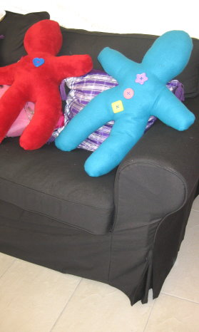 Gigantic Doll Pillows