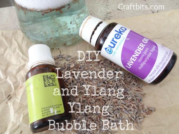 Bath Syrup – Lavender & Ylang Ylang