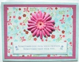 Cardmaking – Flower Friends