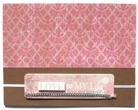 Cardmaking Idea – Love You Forever