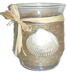 Seashell Votive Holder