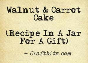 Walnut & Carrot Cake