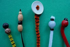 Pipecleaner Bookmarks