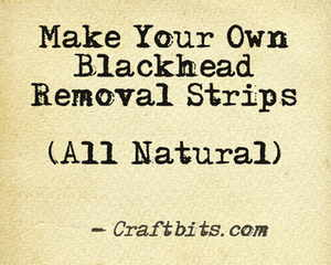 Natural Blackhead Removal Strips