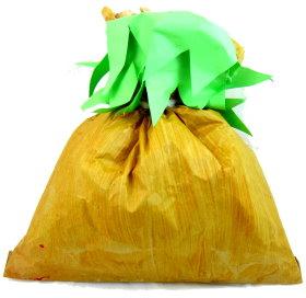 Quick Halloween Treat Bag: Paper Bag Pumpkin