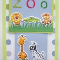 Cardmaking Idea - First Time At The Zoo