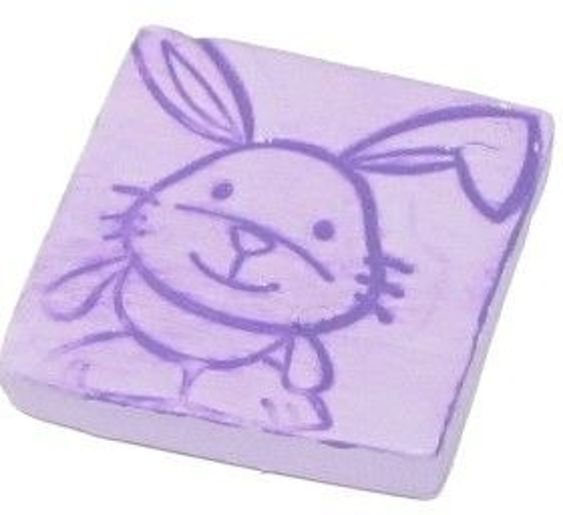 Polymer Clay – Easter Bunny Tile