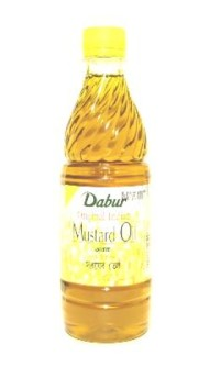 Green Tea And Mustard Hair oil