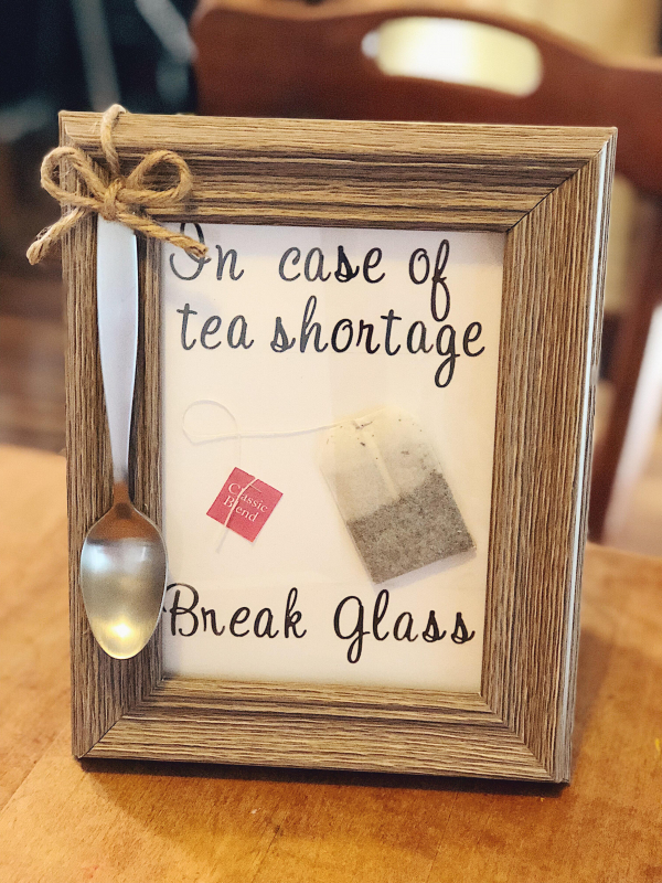 Quirky Craft: Break In Case Of Tea Shortage