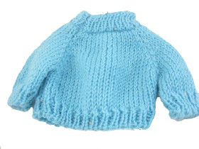 A Knitted Pattern for a Teddy Bear Jumper