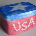 4th of July Patriotic USA Box