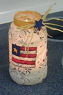 Patriotic Jar