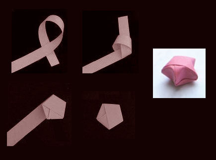 """Puffy Origami """"Lucky Stars"""""""
