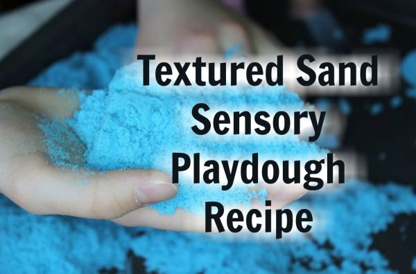 Textured Sand Playdough