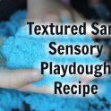 Textured Sand Playdough
