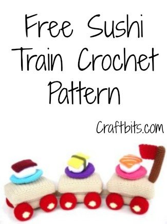 Sushi Train Crochet Pattern