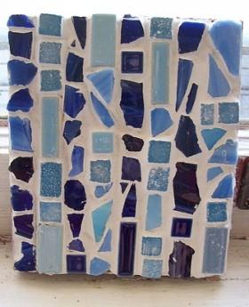 ceramic mosaic tile trivet
