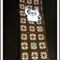 fabric bookmark