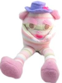 pink doll pattern