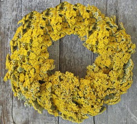 Wreath – Dried Yarrow
