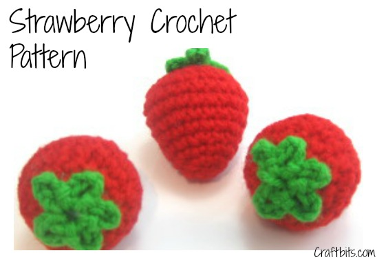 Strawberry Crochet Pattern